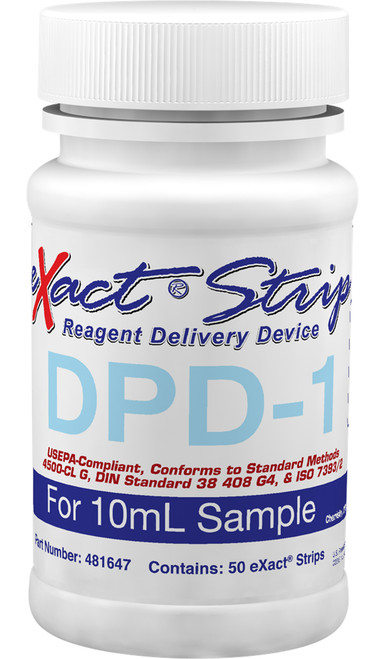eXact Strip DPD-1 bottle