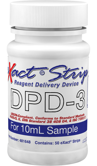 eXact Strip DPD-3 bottle