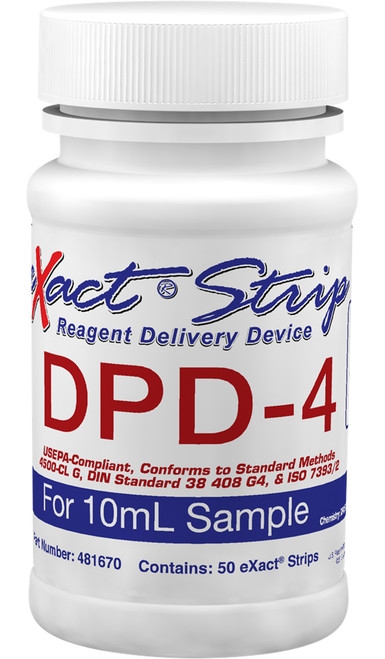 eXact® Strip DPD-4 (10mL sample)