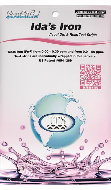 SenSafe® Iron (Ida's) Test Strips (Pocket Pack) Front