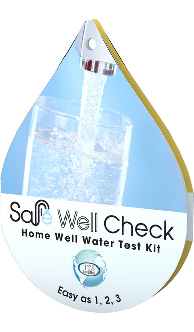 Safe Well Check Home Water Test Kit
