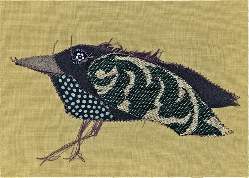 """Epson archival print of fabric appliqué by Peter Good.  Special 2021 edition  20"""" x 16""""  Unframed"""