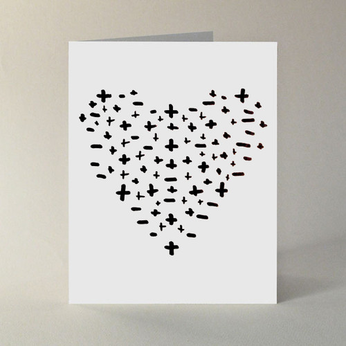 Love–More or Less Note Cards