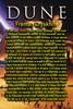 Dune, Movie Version, Fremen Crysknife. Prop Replica, 24kt Gold Leafed Pommel, Leather Sheath, Limited Edition