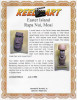 Easter Island Classic Statue, Rapa Nui, Kon Tiki, Solid Resin, Free Book, Circular Jungle Stand, Signed Numbered, Limited Edition