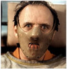 Hannibal Lector Mask, Silence of the Lambs, With Large Acrylic Box Case