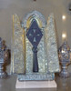The Holy Spear of Destiny, Lance of Longinus, Hofburg Version, Metal with Acrylic Case And Free Book
