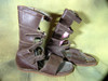 Ben Hur, Real Prop Roman Leather Sandals, Very Neat Rare Item