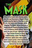 Loki Mask, The Mask, Jim Carrey, Cameron Diaz,  With Clear Easel, Signed, Numbered, Limited Edition