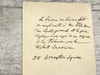 Lucien Bonaparte Signed Letter, Fully Documented by Three Sources