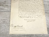 King Louis XVIII, 1778 Signed Document, PSA/DNA Authenticated