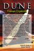 Dune, Movie Version, Fremen Crysknife. Prop Replica, 24kt Gold Leafed Pommel, Limited Edition
