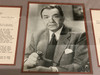 Edward G. Robinson Signed Letter, Framed and Matted with Portrait, PSA/DNA Authenticated