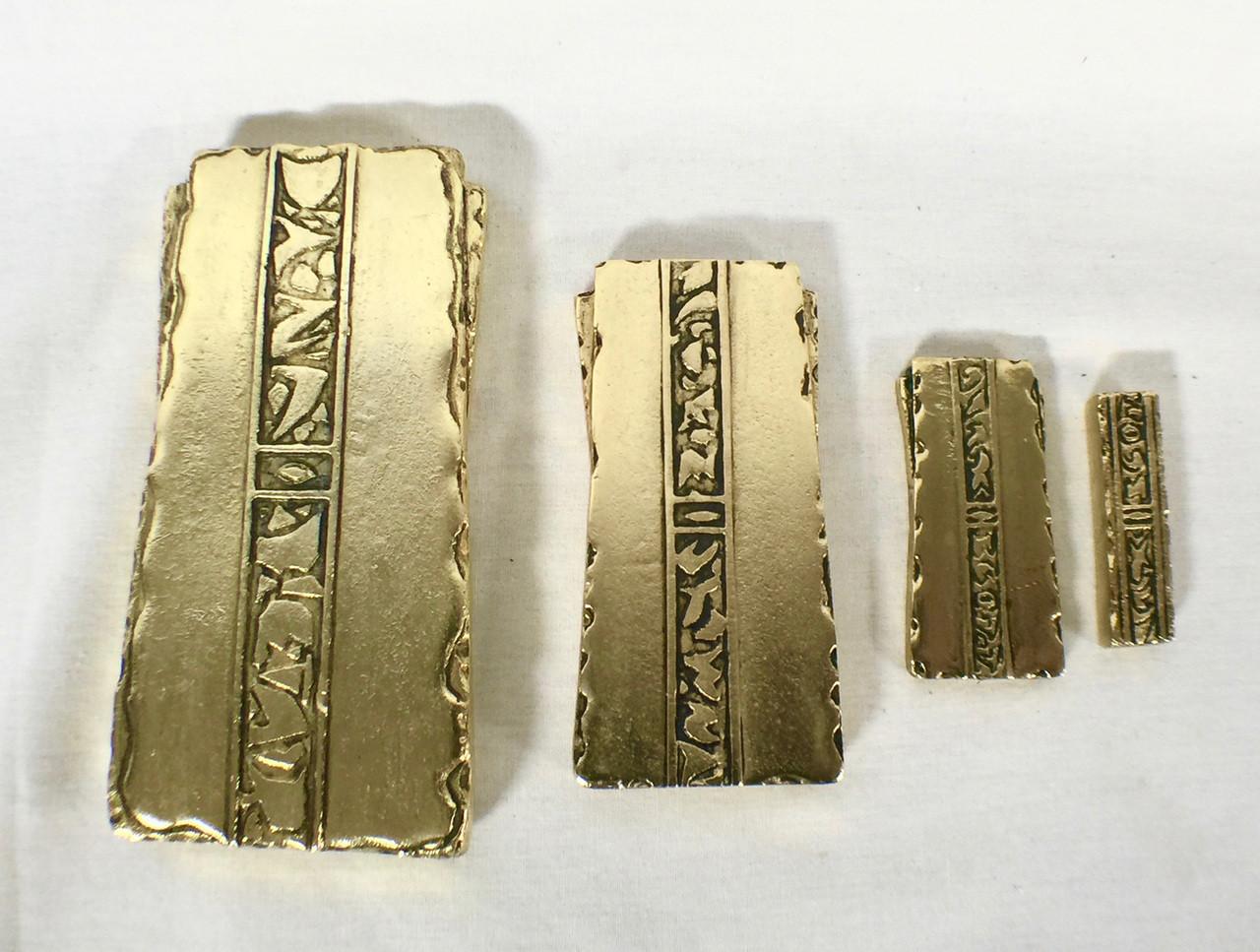 Star Trek, Deep Space Nine, Gold Pressed Latinum Set, Solid Metal - Reel Art