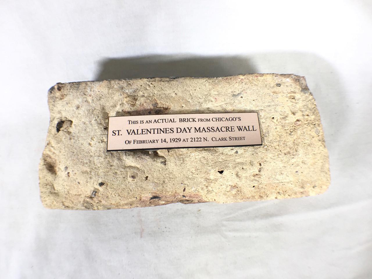 St Valentines Day Massacre Wall Brick Reel Art