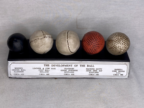 History of the Golf Ball, Desk Plaque, Limited Edition