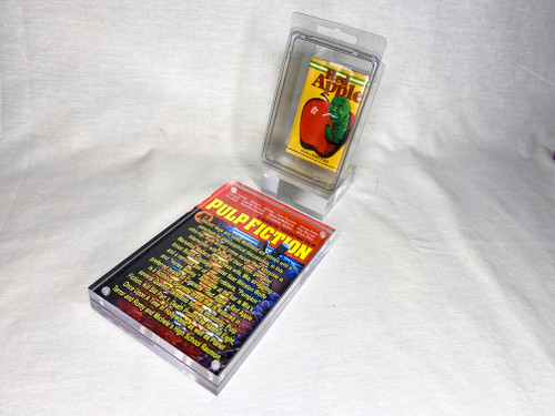 Pulp Fiction Red Apple Soft Pack, Prop Replica, Shrink Wrapped, Plastic Case, Acrylic Display Case and Item Stand, Very Detailed, Limited Edition