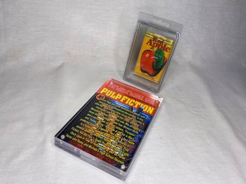 Pulp Fiction Red Apple Soft Pack, Prop Replica, Shrink Wrapped, Plastic Case, Acrylic Plaque, Signed, Numbered,  Limited Edition