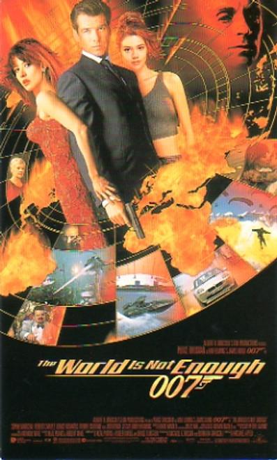 007 James Bond, The World Is Not Enough, Premier Film Invitation, Cool piece