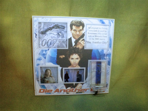 007 James Bond, Die Another Day, Miranda Frosts Ice Palace Entry Key, Real Prop