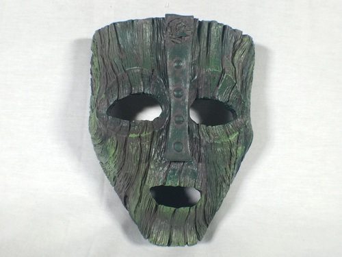 Loki Mask, The Mask, Jim Carrey, Cameron Diaz,  With Clear Easel, Special Limited Edition