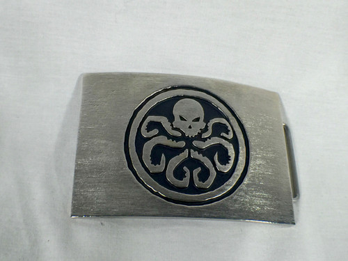 Captain America, Red Skull Hydra Belt Buckle, Solid Metal, Limited Edition