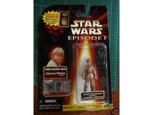 Star Wars Ep 1, Anakin CommTech Figure, New