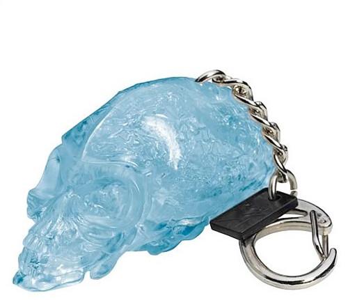 Indiana Jones Crystal Skull Light Up Keychain, New