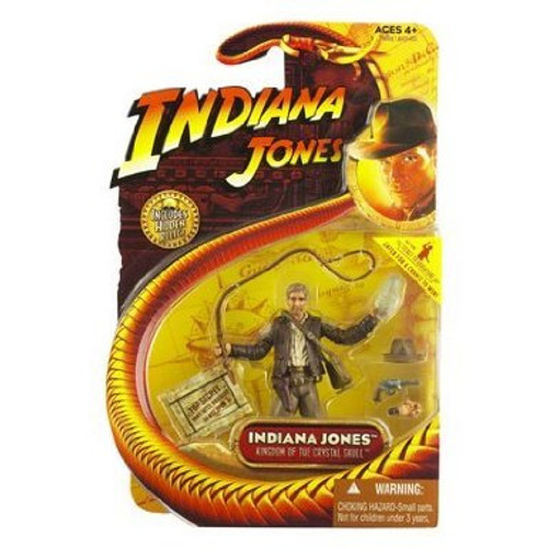 Indiana Jones with Crystal Skull Action Figure, New