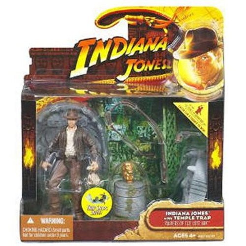 Indiana Jones Temple Trap Action Figure, New