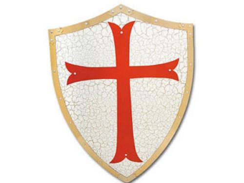 Knights Templar Shield, New