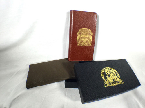 Arnoldus Indiana Jones Idol Brown Leather Wallet