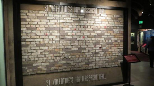 St Valentines Day Massacre Wall Brick Reel Art