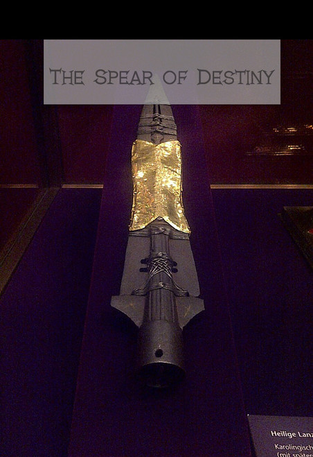 The Spear of Destiny 100 page book , Hard Copy