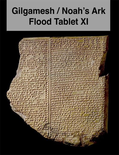 Gilgamesh Flood Tablet XI, Noah;'s Ark, Signed Book