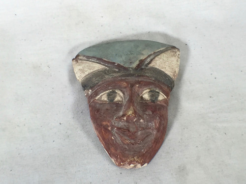 Young Indiana Jones Chronicles  Real Prop Egyptian Head Sculpture Type A