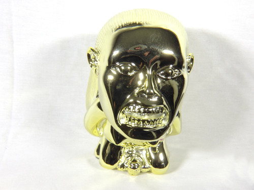Raiders of the Lost Ark, Golden Idol of Fertility Statue, Shiny Gold Plated Version, Solid Resin, Limited Edition
