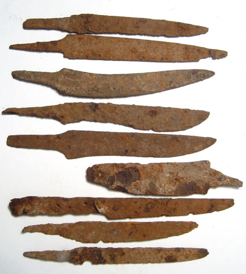 Iron Knife Blade,  Circa Roman Early Middle Ages, Real Relic