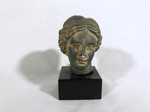 National Treasure Roman Type Sculpture Head Prop
