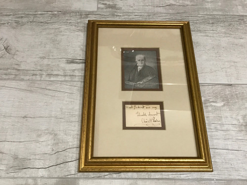 Charles Willson Peale, Framed and Matted, Signed Cut, PSA/DNA Authenticated