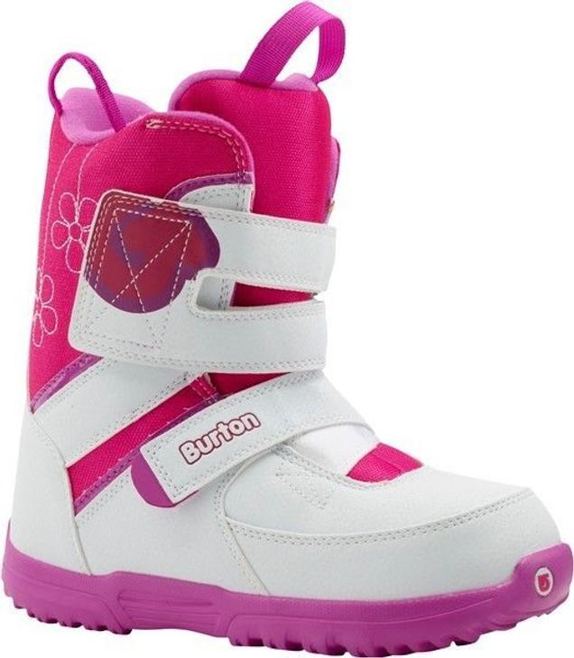 2015 Burton Grom White/Pink Junior Snowboard Boots
