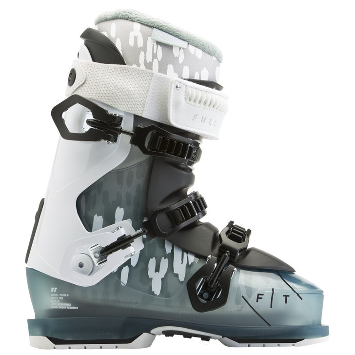 2016 Full Tilt Plush 6 Black/White/Blue Women's Ski Boots