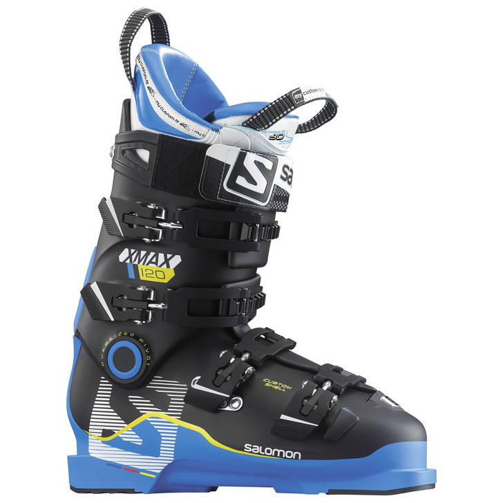 2017 Salomon X Max 120 Blue/Black Mens Ski Boots