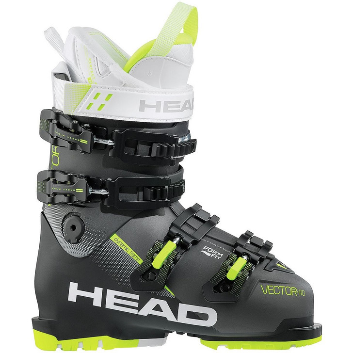 2018 Head Vector Evo 110 W Anthracite/Yellow Womens Ski Boots