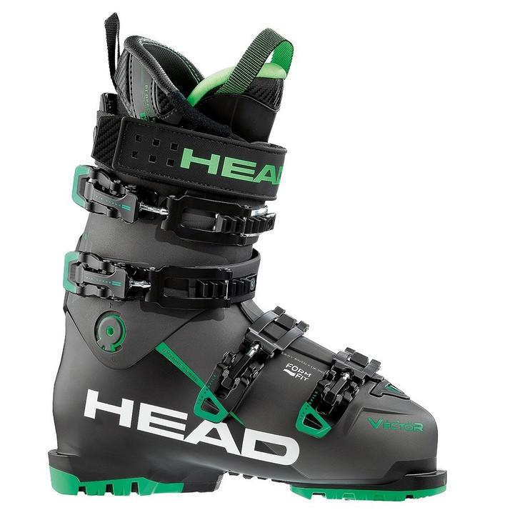 2018 Head Vector Evo 120 Anthracite/Green Mens Ski Boots