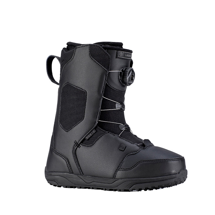 2019 Ride Lasso JR Black Snowboard Boots