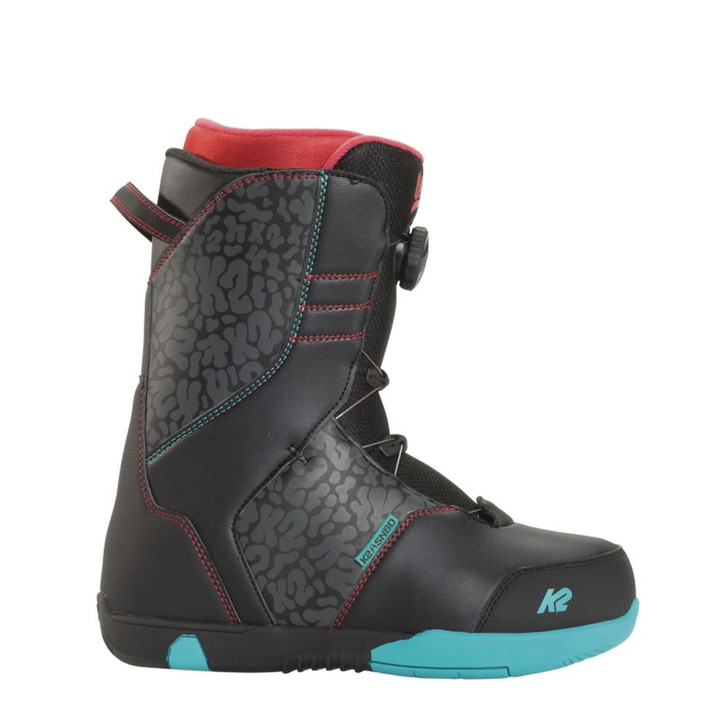 2016 K2 Vandal Black Junior Snowboard Boots