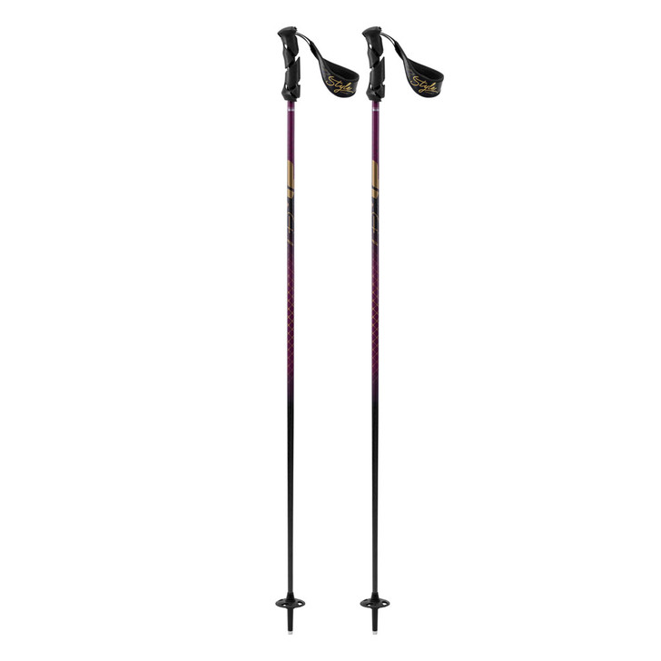 2019 K2 Style Carbon Adult Black Ski Poles