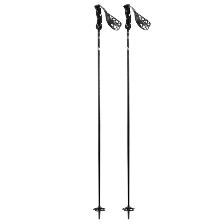 K2 Power Carbon Adult Grey Ski Poles