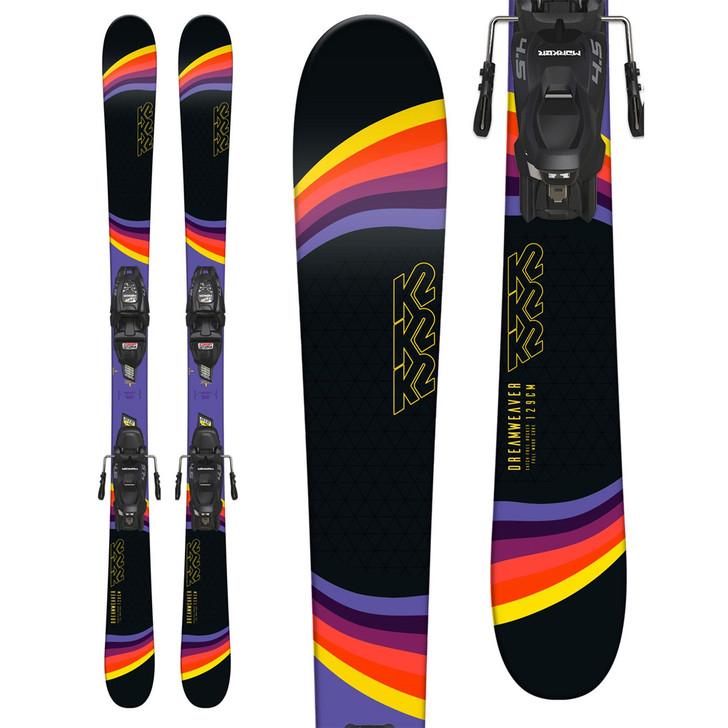 2019 K2 Dreamweaver Junior Skis w/ Marker 4.5 Bindings